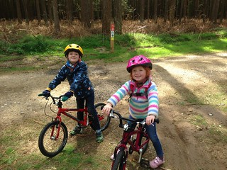 Family ride at Thetford Forest | by Ross Burton
