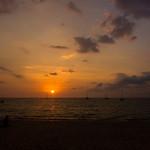 奈扬沙滩的日落 | Sunset @ Nai Yang Beach