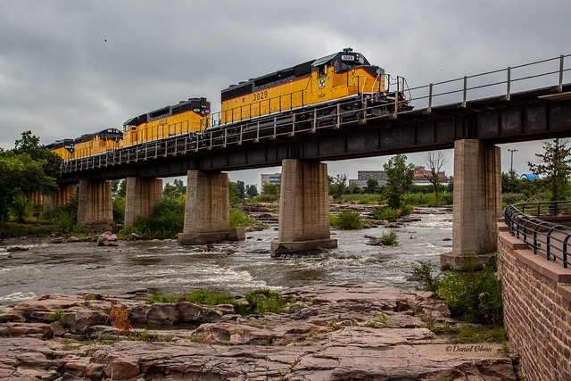 Freight over the Big Sioux River