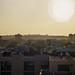 Sahara desert filled skyline