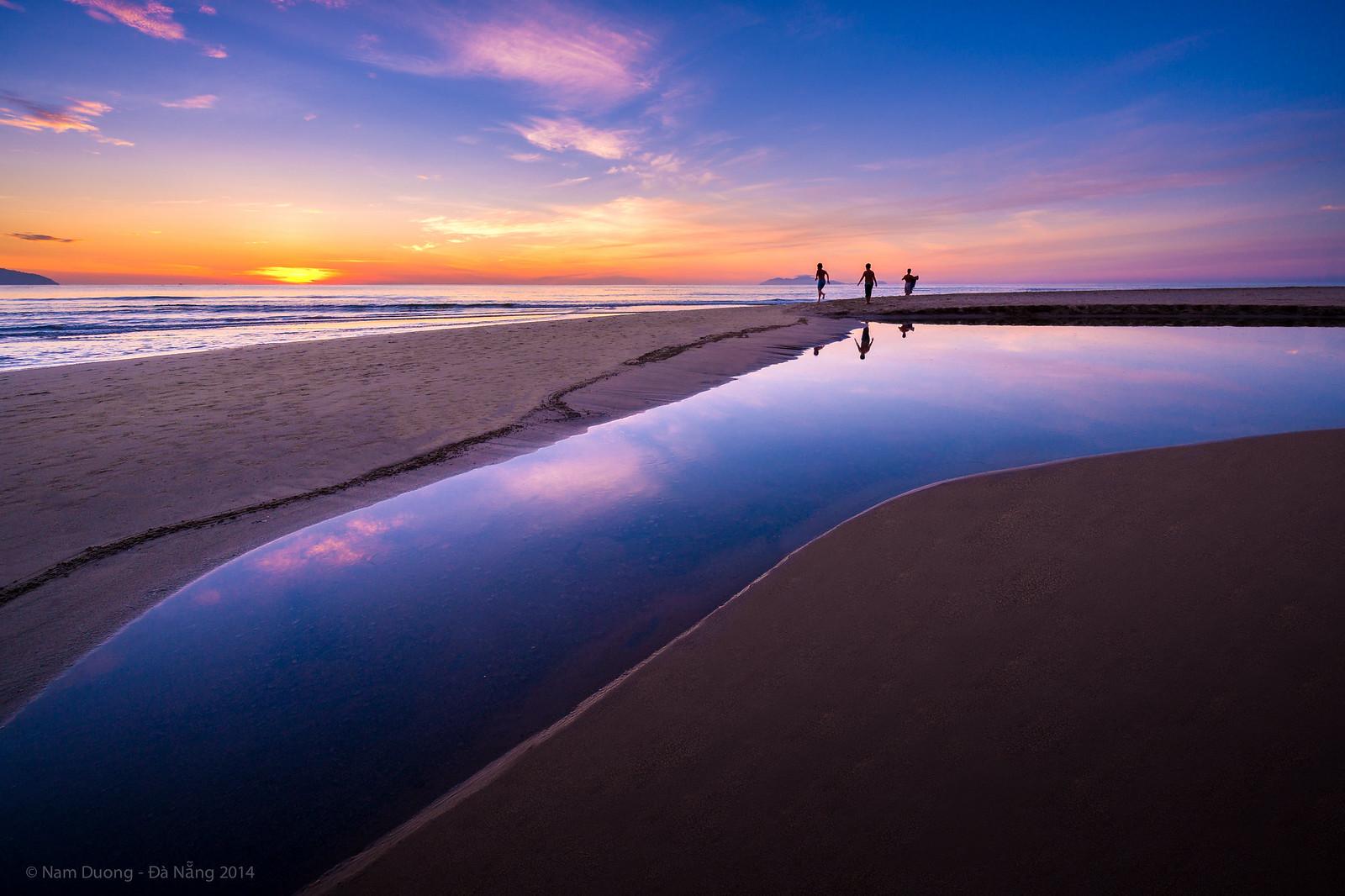 My Khe sunrise