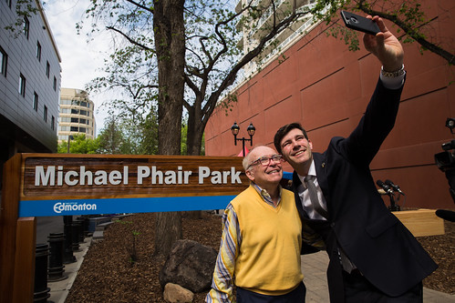 Michael Phair Park Unveiling | by mastermaq