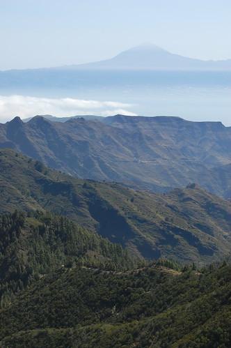 Teide z La Gomery
