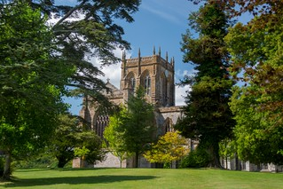 Milton Abbey from south
