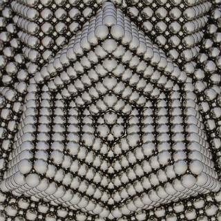 Stellated Rhombic Triacontahedron Variation