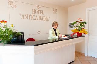 Reception | by Hotel Antica Badia