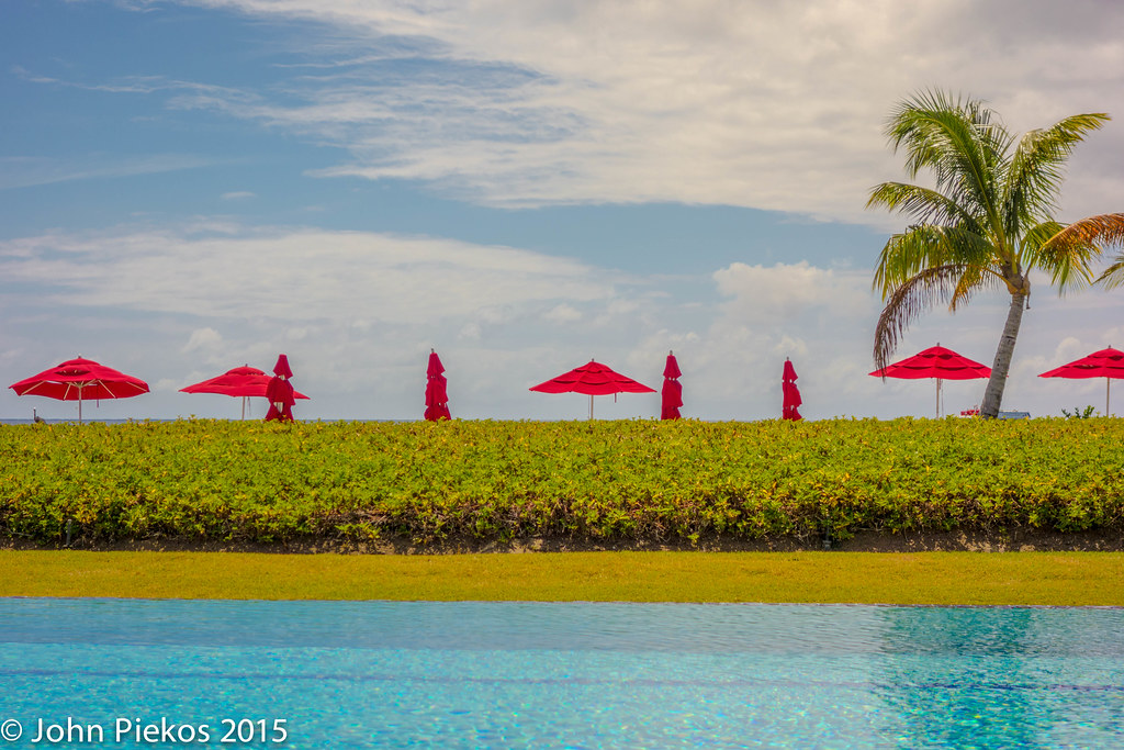 Poolside at the Nevis Four Seasons