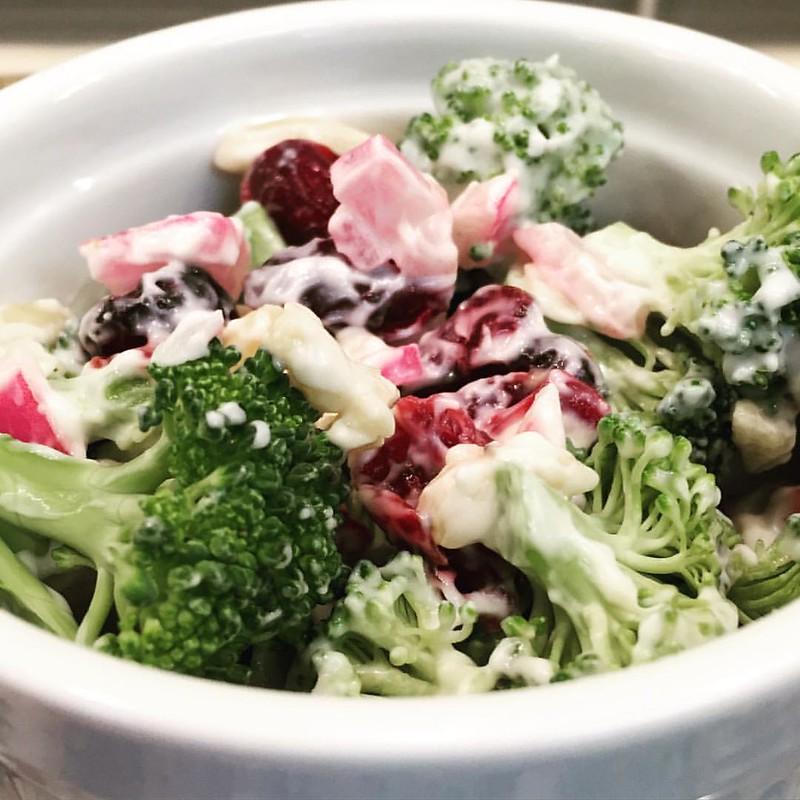 Broccoli Salad Recipe Cooking Light