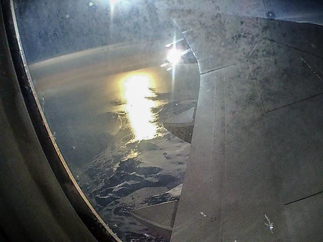 Sonne über Grönland