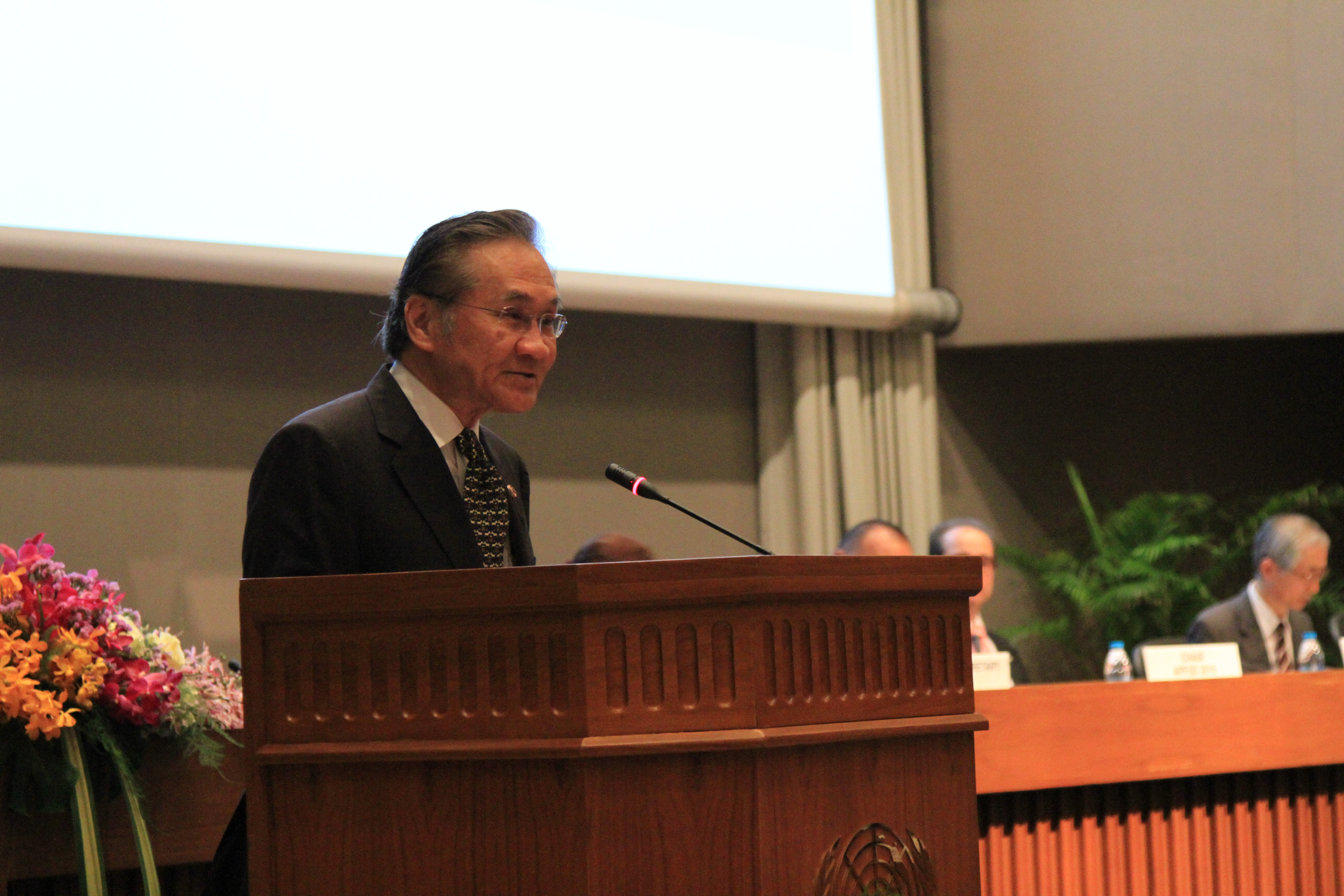 Foreign Minister of Thailand at APFSD 2016