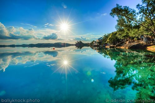 ocean morning sun reflection sunrise reflections atlantic islandlife harringtonsound bermdua