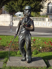 Statue Charlie Chaplin-Vevey
