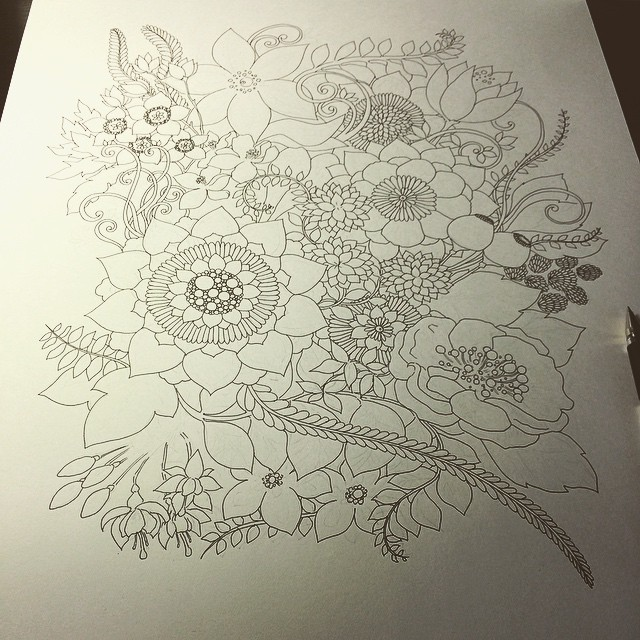Botanical drawing for my client. I spent 5 hours so far. It's gonna be a great work :) #ink #instart #instadraw #instagood #instadaily #instadoodle #zia #zenart #Zendoodle #zentangle #doodle #drawings #botanical #art #artist #artistic #creative #flower #ゼ