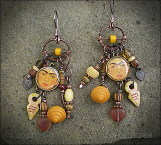 Lucky Frida Amulet Earrings