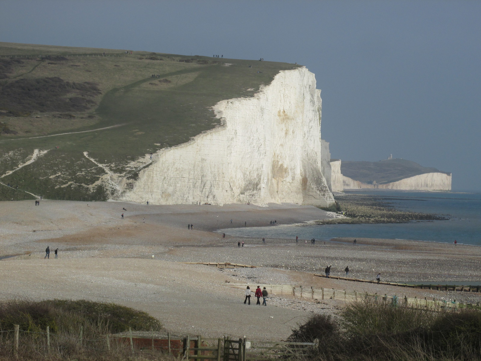 April 6, 2015: Glynde to Seaford Cuckmere Haven & Seven Sisters