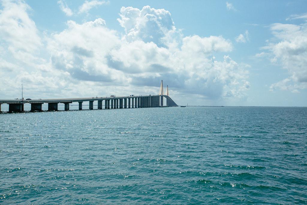 The Sunshine Skyway Bridge