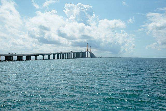 The Sunshine Skyway Bridge