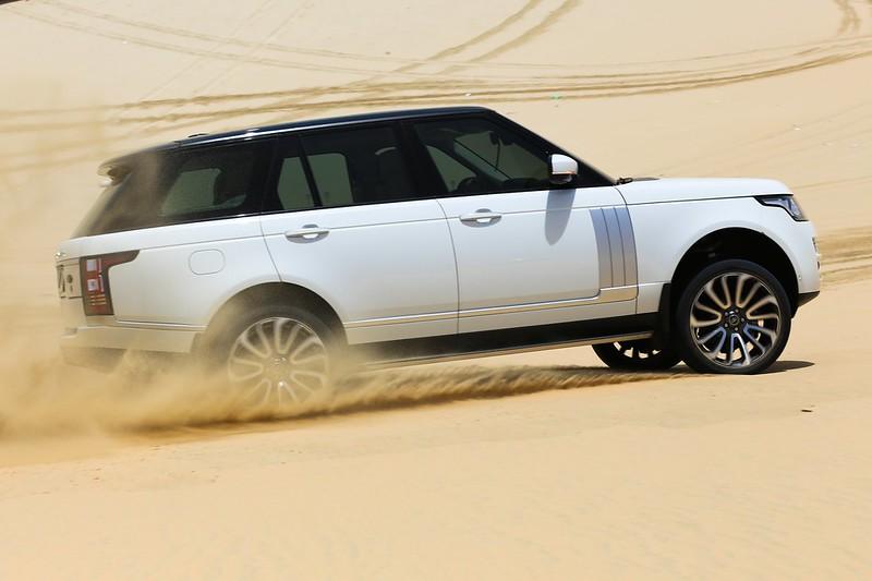Land Rover Ride & Drive Desert Event   Alfardan Premier Motors Qatar