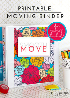 Printable | Moving Binder Kit | by TheHomesIHaveMade