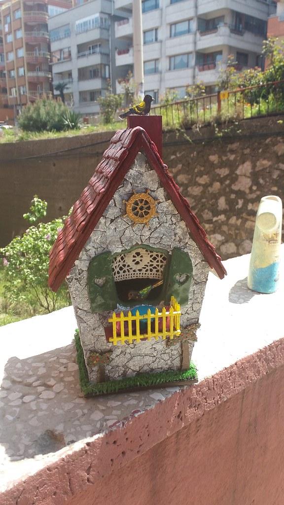 Bird Home Kus Yuvasi Ahsap Boyama Ayla Gunay Flickr
