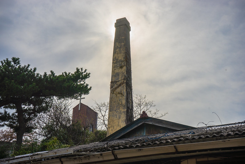 Former Japanese bathhouse, Gampo, South Korea
