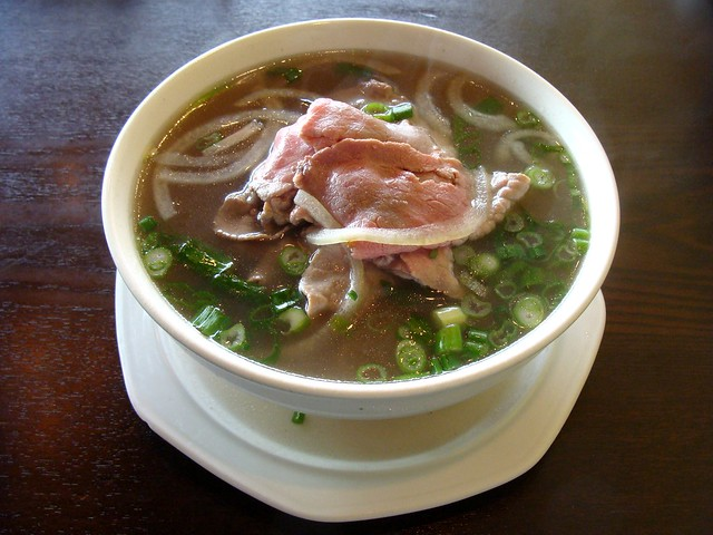 Pho Tai at the Green Leaf