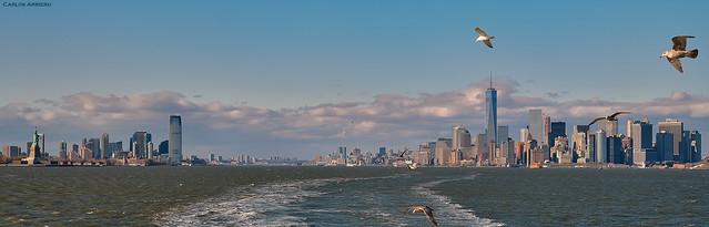 Panorámica de New York.