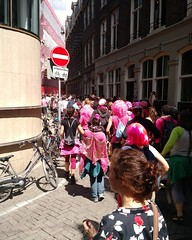 Protest in De Nes #amsterdam #niettekoop