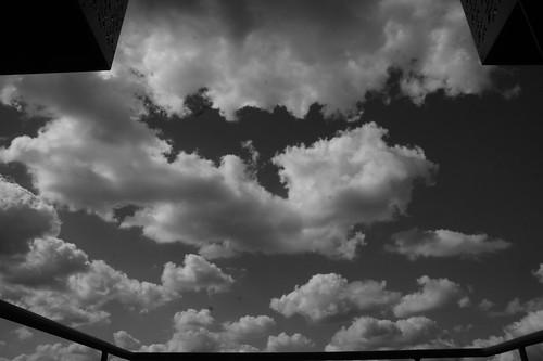 balcony & sky