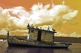 Pelican Houseboat Guatemala
