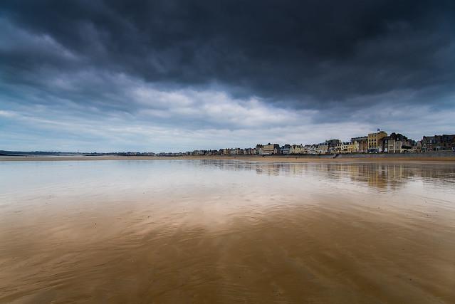 Bretagne-St Malo-Low Tide