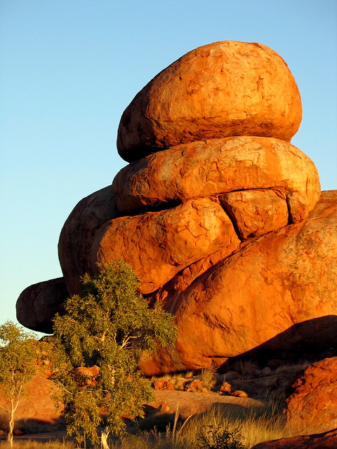 Devil's Marbles at Sunset