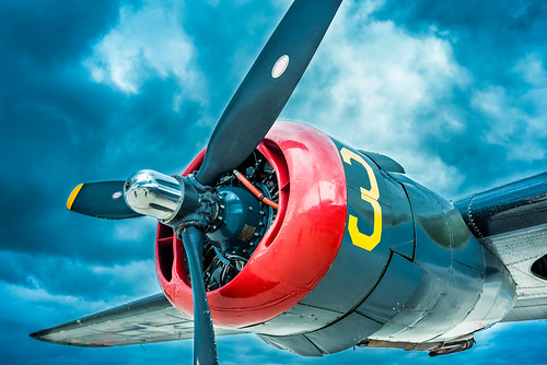 B-24 Liberator Engine