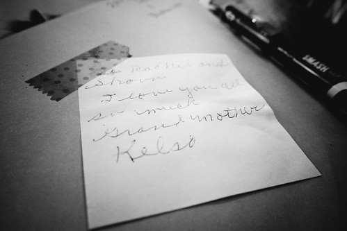 155. a message | by rachelakelso
