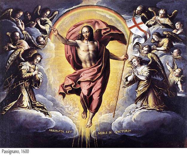 Cristo resucitado - Passignano, 1600