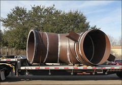 "90"" Dia. Duct Work Designed for an Ammonia Plant in Louisiana"