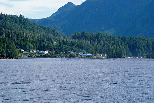Village of Kyuquot, Kyuquot Sound, Vancouver Island, British Columbia. Photo: Santa Brussouw.