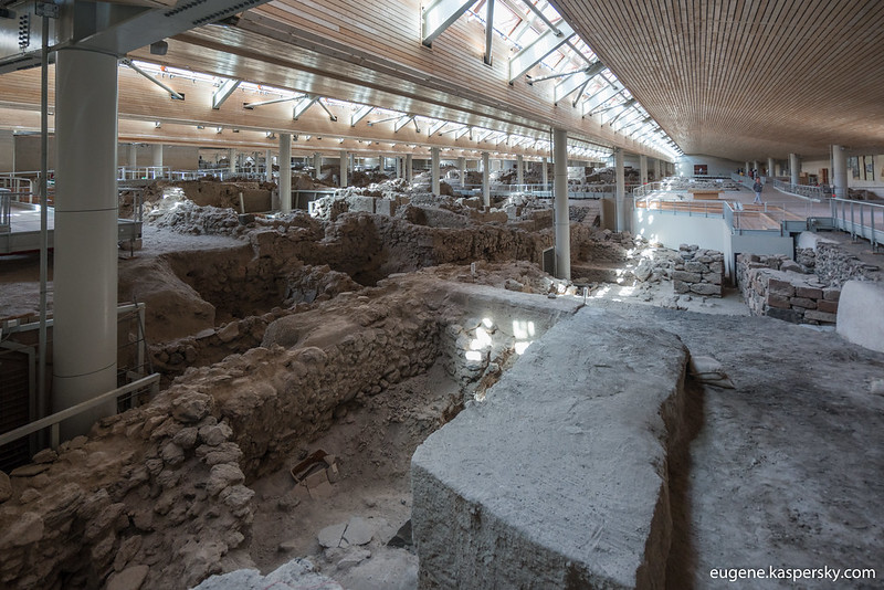 Acrotiri excavations