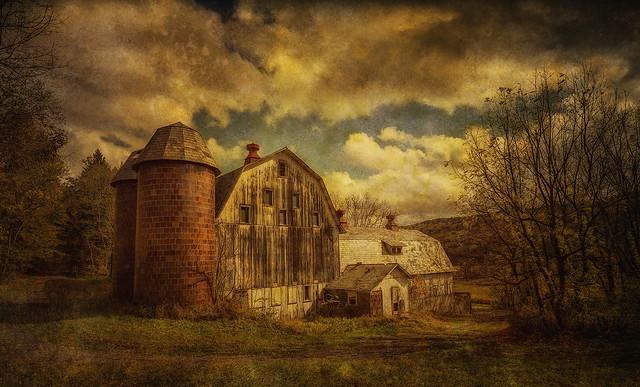 White Barn, Poconos, Texture