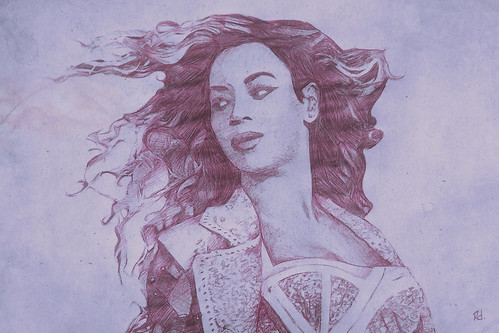 Queen B Portrait