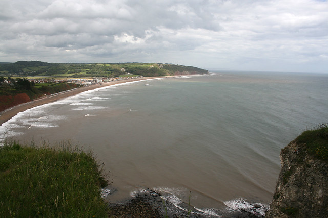 View of Seaton from East Ebb
