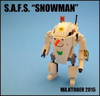 """S.A.F.S. """"SNOWMAN"""""""