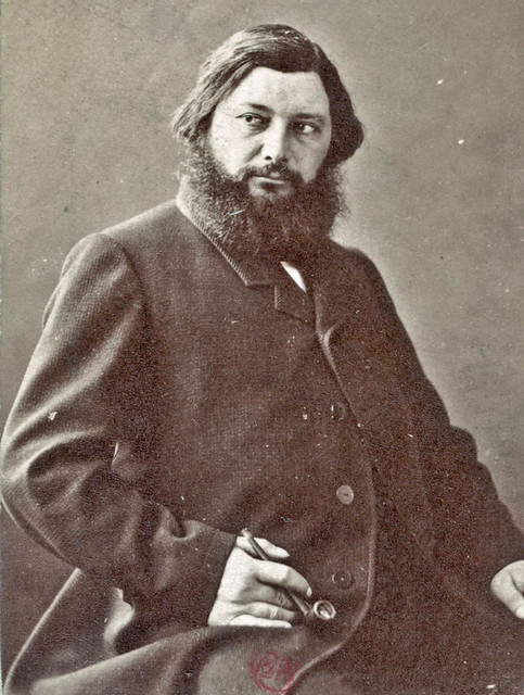 Foto of Gustave Courbet - atelier Nadar