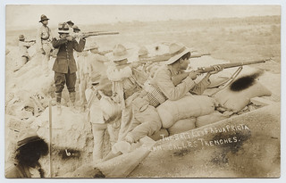The Battle of Agua Prieta, Gen. Calles Trenches.