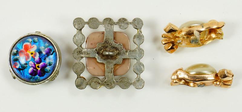 RD7036 Assorted Vintage Costume Jewelry Pieces - Unique DSC09328