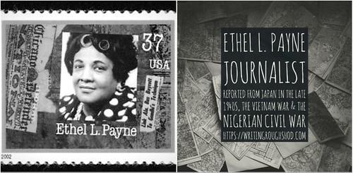ETHEL L. PAYNE #100travelHERS   by sandrakaybee