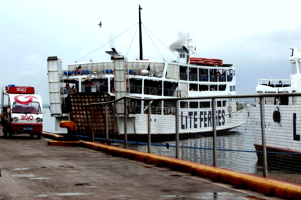 Lite Ferry 1 leaving | For Tubigon  The cheap transport to B