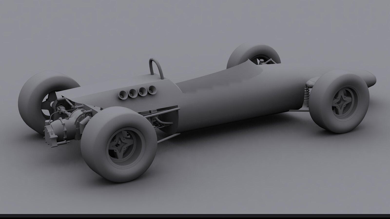 rFactor 2 - 1967 Formula 2 Mod Lotus 48