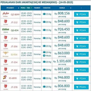 Promo Tiket Pesawat 14 Mei 2015 Jakarta Medan Harga Mu Flickr