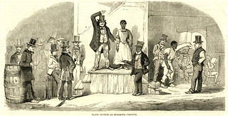 Slave auction at Richmond, Virginia | by VCU Libraries Commons